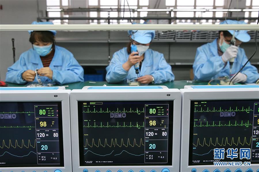 (聚焦疫情防控)(1)河北:医疗设备企业开足马力全力保障市场供应